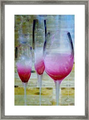 Pink Summer Framed Print by Ben and Raisa Gertsberg