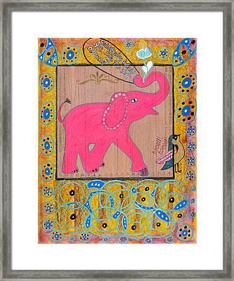 Pinky Framed Print by Donna Blackhall