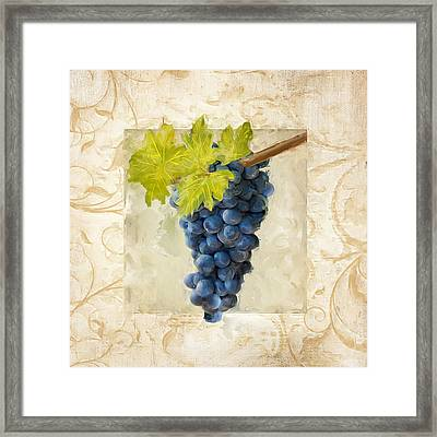 Pinot Noir II Framed Print by Lourry Legarde