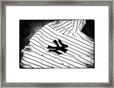 Pinstripe Pride Framed Print by John Rizzuto