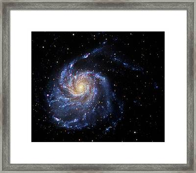 Pinwheel Galaxy Framed Print by Robert Gendler