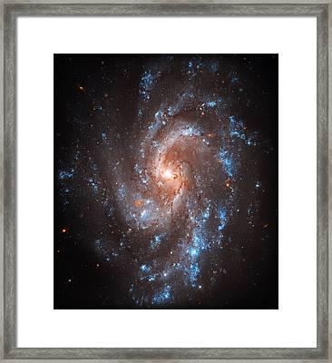Pinwheel Galaxy Framed Print by Jennifer Rondinelli Reilly - Fine Art Photography