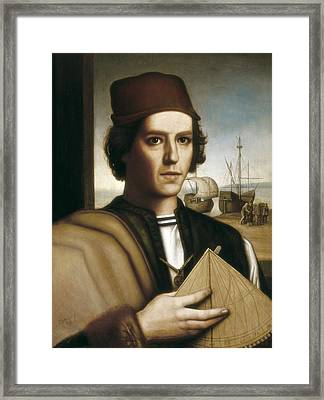 Pinzon, Vicente Y��ez  -1515. Painting Framed Print by Everett