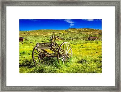 Pioneer Coach Framed Print by Marius Sipa