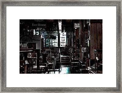 Pioneer Square Antique Store - Seattle Washington Framed Print by David Patterson