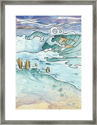 Pipeline Framed Print by Harry Holiday