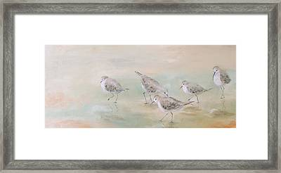 Pipers Five Framed Print by Susan Richardson