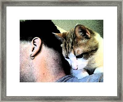 Pirate Cat Framed Print by Eric Forster