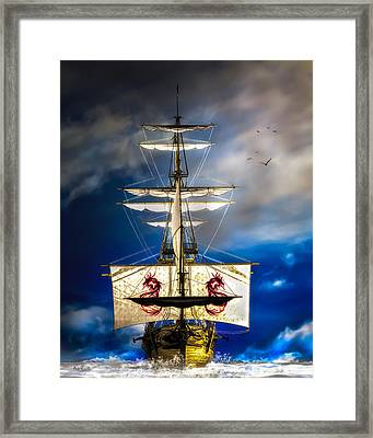 Pirates Framed Print by Bob Orsillo