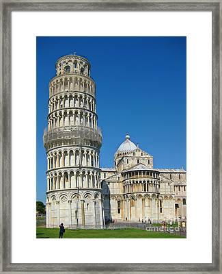 Pisa Italy Framed Print by John Malone