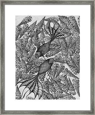 Pisces Framed Print by Anca S