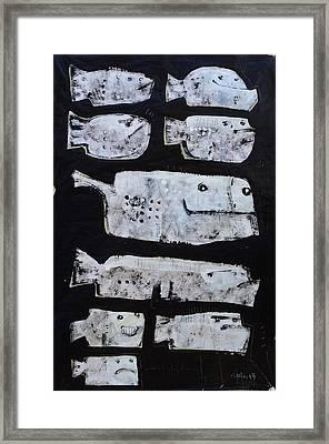Piscis No 3 Framed Print by Mark M  Mellon