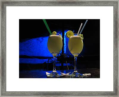 Pisco Sour In Puno Framed Print by RicardMN Photography