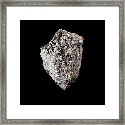 Pitchblende Framed Print by Science Photo Library