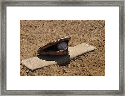 Pitchers Mound Framed Print by Bill Cannon