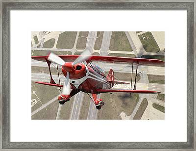 Pitts Special S-2b Framed Print by Larry McManus