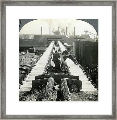 Pittsburgh Foundry Framed Print by Granger