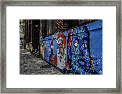 Pittsburgh Mural Framed Print by Anthony Citro