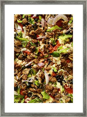 Pizza Heaven Framed Print by Paul W Faust -  Impressions of Light