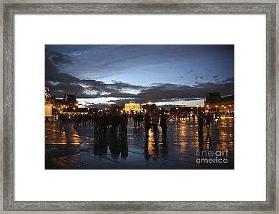 Place Du Carrousel Framed Print by Randi Shenkman