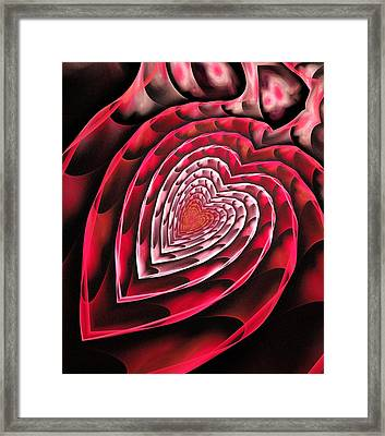 Place In Your Heart Framed Print by Anastasiya Malakhova