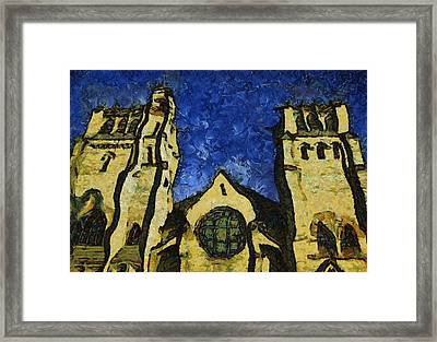 Place Of Worship Framed Print by Dale Stillman