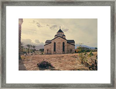 Place Of Worship Framed Print by Laurie Search