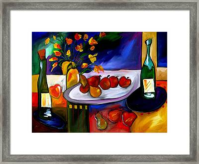 Placement Is Key Framed Print by Tom Fedro - Fidostudio