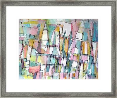 Cherished Places And Chapters Framed Print by Hari Thomas