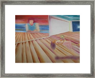 Places And Spaces Framed Print by Prasenjit Dhar