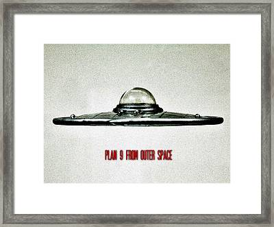 Plan 9 From Outer Space Framed Print by Benjamin Yeager