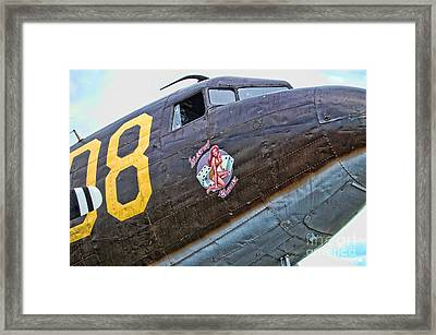 Plane-douglas C-47b Sky Train Framed Print by Paul Ward
