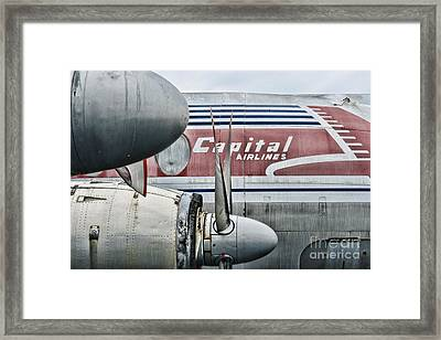 Plane Obsolete Airline Framed Print by Paul Ward