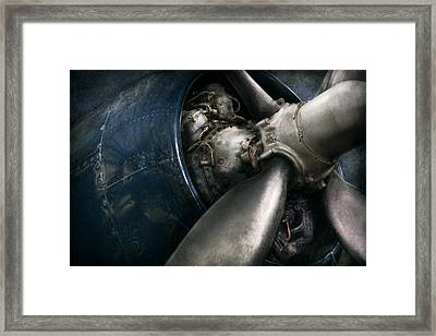Plane - Pilot - Prop - You Are Clear To Go Framed Print by Mike Savad