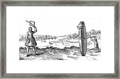 Planetary Motion Framed Print by Universal History Archive/uig