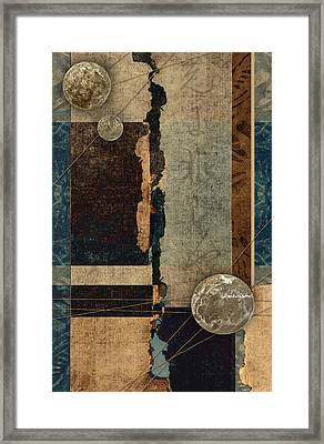 Planetary Shift #1 Framed Print by Carol Leigh