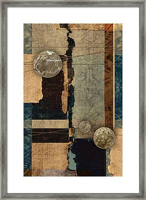 Planetary Shift #2 Framed Print by Carol Leigh