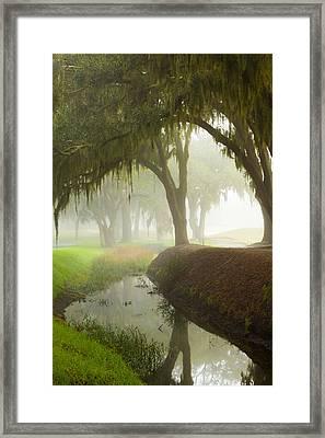 Plantation Canal Framed Print by Barbara Kraus - Northrup