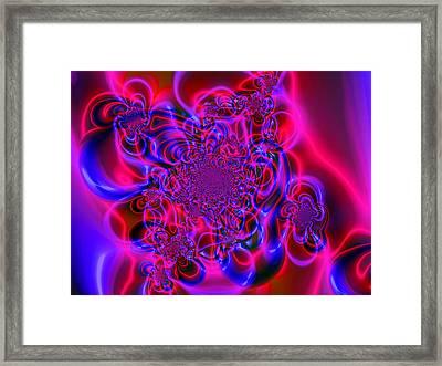 Plasma Dream Framed Print by Ian Mitchell