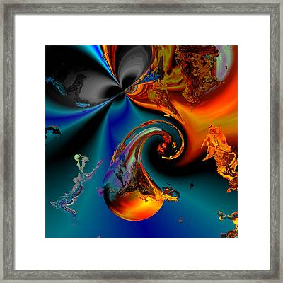 Plate 291 Framed Print by Claude McCoy