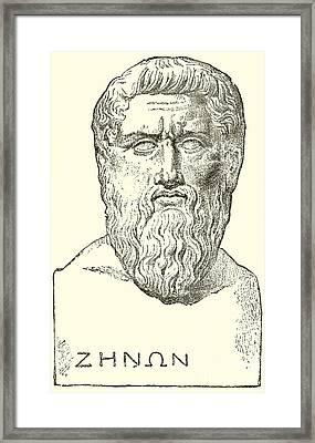 Plato  Framed Print by English School