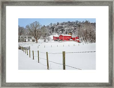 Platt Farm Framed Print by Bill  Wakeley
