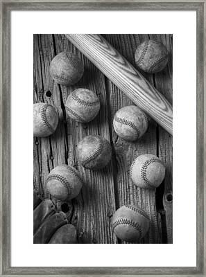 Play Ball Framed Print by Garry Gay
