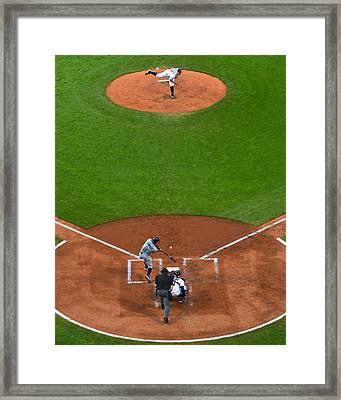 Play Ball Framed Print by Frozen in Time Fine Art Photography