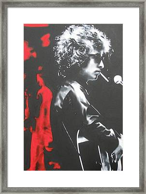 Play It Fuckin' Loud Framed Print by Luis Ludzska