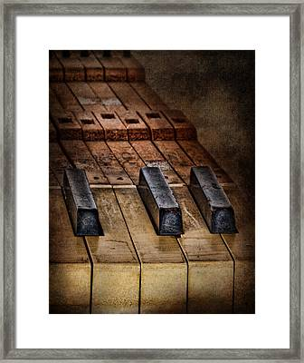 Play Me An Old Hymn Framed Print by David and Carol Kelly