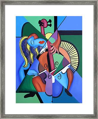 Play Me Framed Print by Anthony Falbo