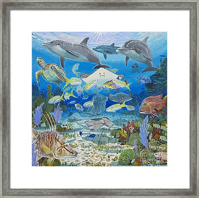 Play Time Re0018 Framed Print by Carey Chen