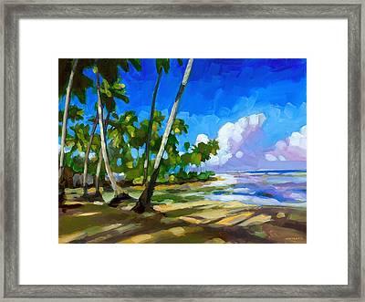 Playa Bonita Framed Print by Douglas Simonson