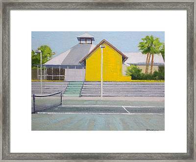 Players Club Two Framed Print by Robert Rohrich
